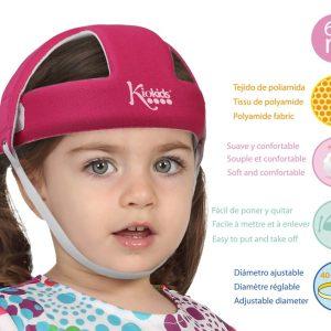 C. Casco de Seguridad Infantil color rosa Marca KIOKIDS | PRODUCTOS PARA LA SEGURIDAD DE TU BEBE EN CASA