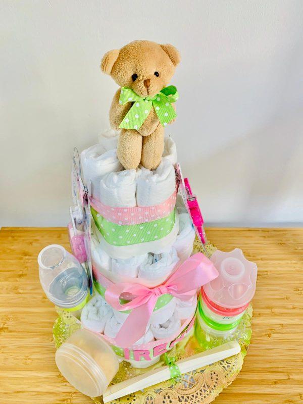 tarta de pañales ternura