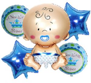 Ramos de globos de helio color azul | Hecho a mano