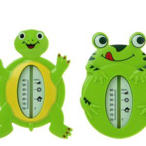 Termómetro para Baño 2 STD Marca KIOKIDS| Al Agua Patos