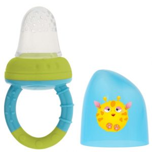 BL. Alimentador Antiahogo en Silicona color azul Marca KIOKIDS | Productos para la alimentacion de los bebes