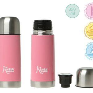 C. TERMO ACERO INOXIDABLE ROSA 350 ML colo rosa| Productos para la alimentacion de los bebe
