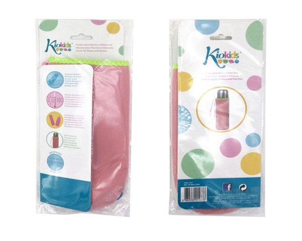 FUNDA NEOPRENO 7X20 AZUL TERMO 500 ML color rosa | Productos para la alimentacion de los bebes