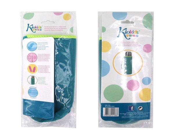 FUNDA NEOPRENO 7X20 AZUL TERMO 500 ML color azul | Productos para la alimentacion de los bebes