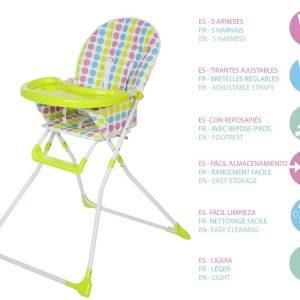 C. Trona Sencilla Marca KIOKIDS | Productos para la alimentacion de los bebes