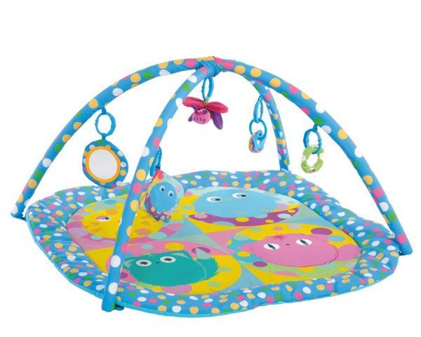C/V Mantita de Juego 92X92X45 CMS Marca KIOKIDS | Juguetes para bebes