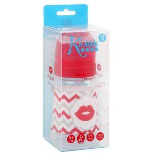 Sol. Biberón 250 Ml Labios Flujo Medio color Rojo Marca KIOKIDS | Productos y Accesorios para la Succion y Lactancia Materna