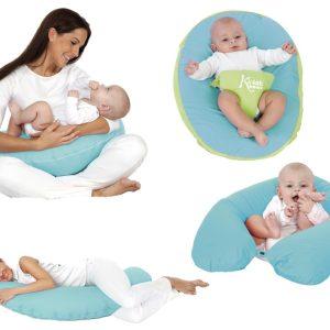B/ Cart. Cojín de Lactancia Marca KIOKIDS color azul | Productos y Accesorios para la Succión y Lactancia Materna