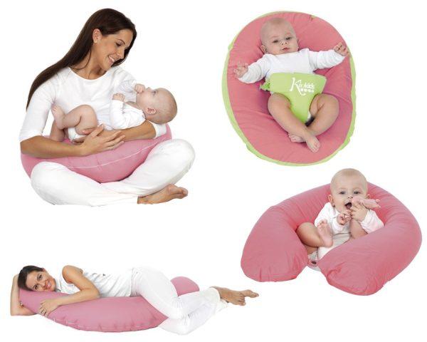 B/ Cart. Cojín de Lactancia Marca KIOKIDS color rosa | Productos y Accesorios para la Succión y Lactancia Materna