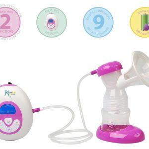 Sacaleches Eléctrico 2 Modos Marca KIOKIDS | Productos y Accesorios para la Succión y Lactancia Materna
