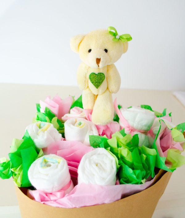 Bouquets pañales | Tartas de Pañales