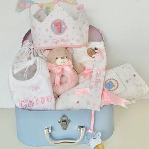 Canastilla maleta para bebes