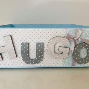 cajas de madera personalizadas para bebes