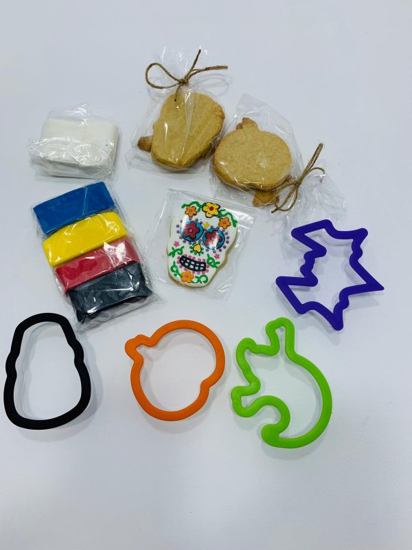 DIY kit de decoración de galletas hallowen